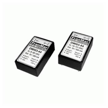 DWI03-46A - 3 Watts DIP 24 package Twin Regulated Output DC-DC Converter